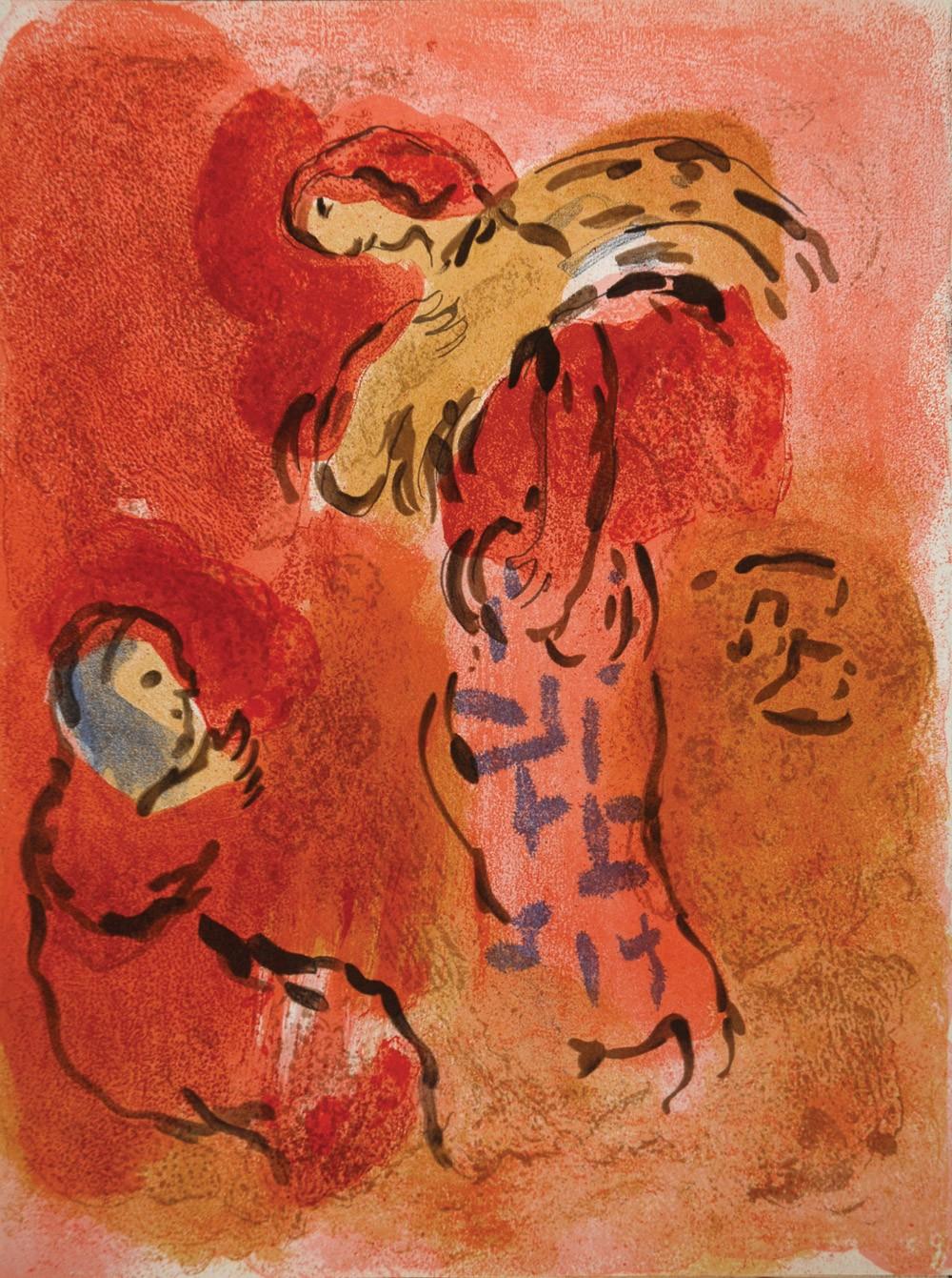 BERESHIT: God's last creation | Halakha of the Day Chagallbijbel